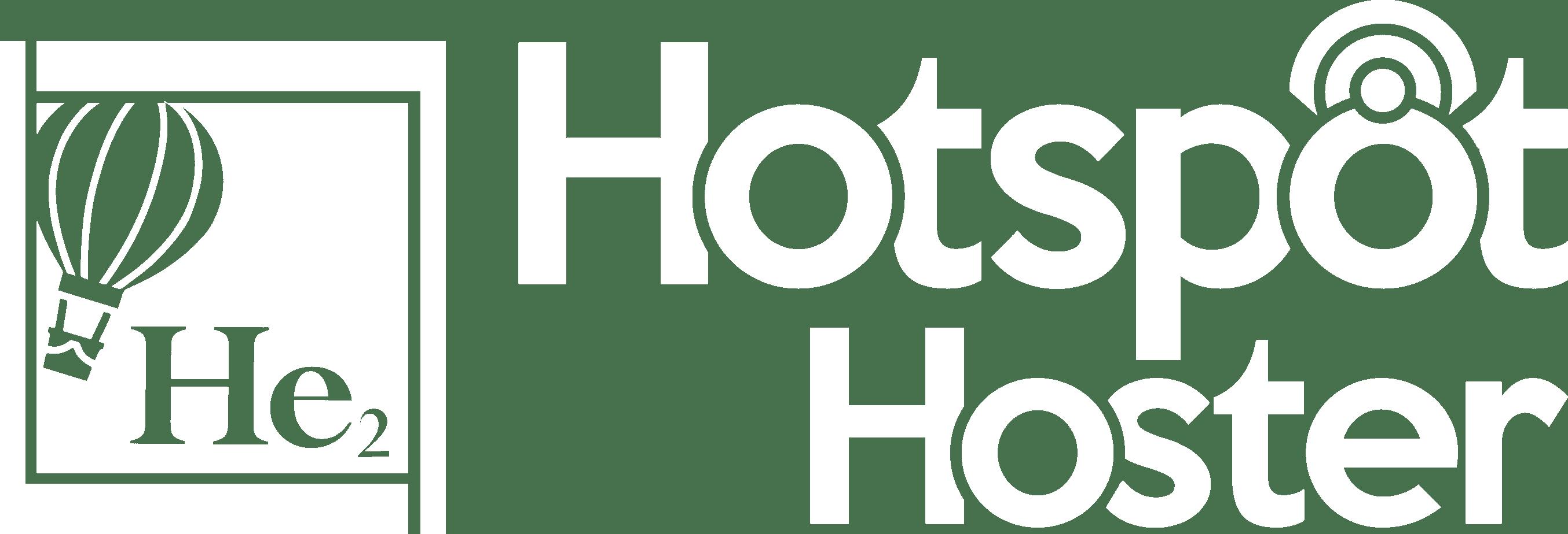 DD - Hotspot Hoster Logo White